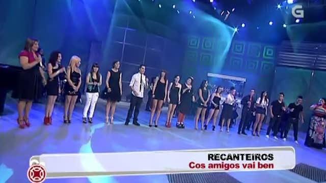 """Actuación Recanteiros: """"Cos amigos vai ben"""" - 20/07/2012 00:00"""