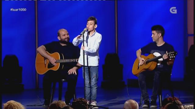 Adrián Martín canta 'Lágrimas negras' - 07/10/2016 22:45