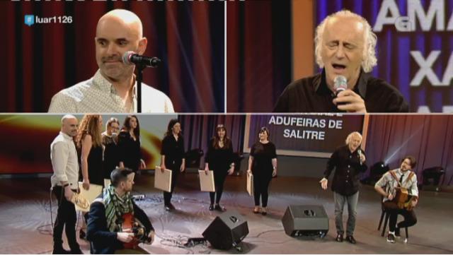 Amancio Prada, Xabier Díaz e as Adufeiras de Salitre - 05/05/2018 10:22