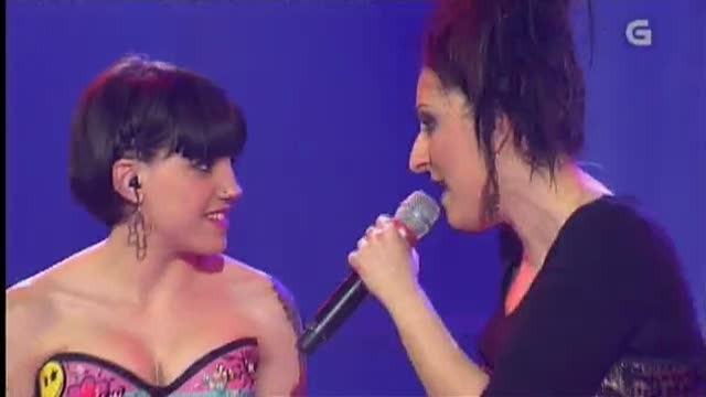 Angy canta en galego con Tania Fuegho - 24/05/2013 00:00