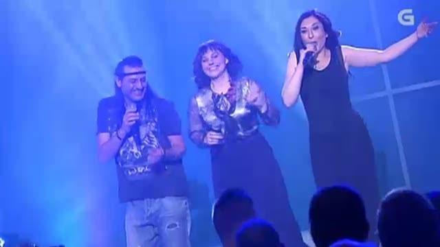 "Camela e Iolanda Vázquez interpretan ""A Santiago vou"" - 15/02/2013 00:00"