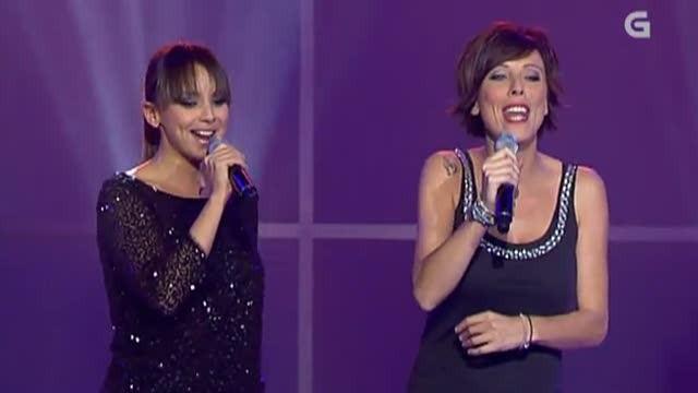 """Chenoa canta con Susana Seivane a """"Jota de Vilar"""" - 12/10/2012 00:19"""