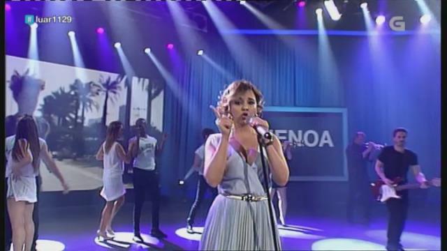Chenoa canta o seu tema 'Quinta dimensión' - 25/05/2018 23:12