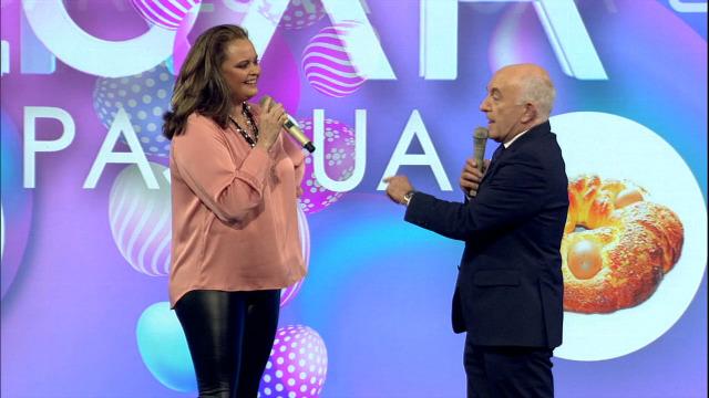 Con Shaila Dúrcal, e Lucía Veiga e Sergio Pazos en 'O mellor década casa' - 02/04/2021 22:00