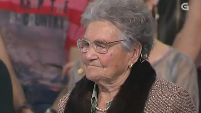 """Entrevista con Jesusa del Río """"Vaia 94 anos!"""" - 09/12/2011 22:31"""