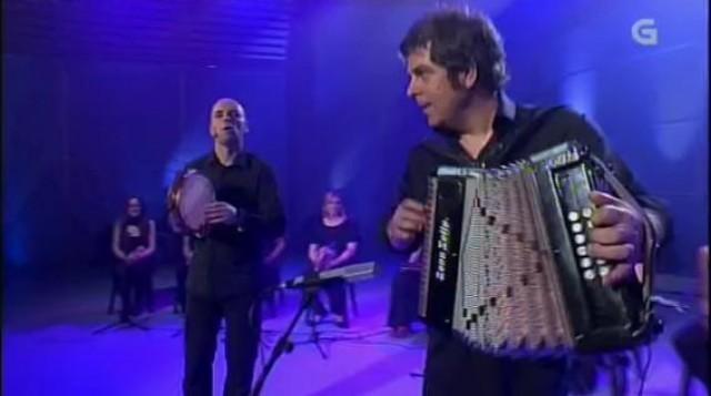"Kepa Junquera con Xabier Díaz en Luar, ""Gaztelugatxeko dantxa"" - 03/05/2013 00:00"