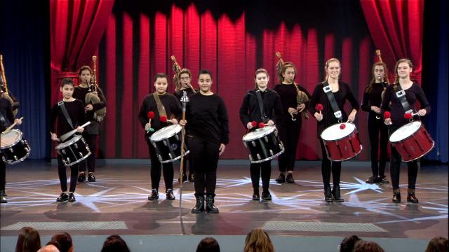 """Ladies Band interpretan a """"Jota do Cebreiro"""" - 19/01/2019 00:15"""