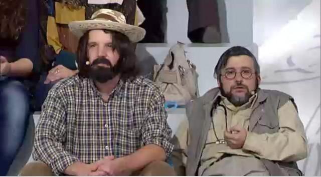 "Laurence e Pepe ""O magosto"" - 21/10/2011 22:38"