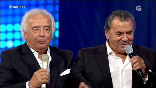 Los del Río cantan 'Lo que están pa ti' e xogan a adiviñar cancións cos recanteiros - 28/09/2018 23:37