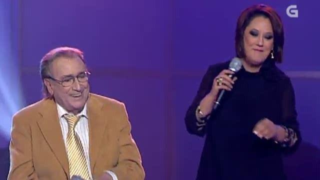 """Manolo Escobar e Pili Pampín interpretan """"Ven bailar Carmiña"""" - 15/12/2012 00:00"""