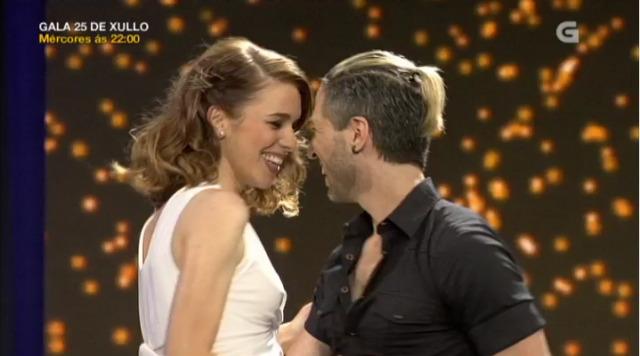María Mera atrévese con 'Dirty Dancing' e baila con Juan Miguel Hernández - 21/07/2018 10:07
