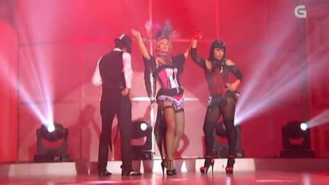 "Marlene Mourreau, María Chenlo e Dani Ríos: ""Moulin Rouge"" - 06/07/2012 00:00"