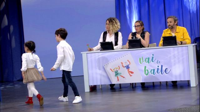 O xurado do 'Vai de baile!' valora as actuacións - 06/04/2019 00:15