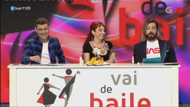 O xurado do 'Vai de Baile' valora as actuacións - 27/04/2018 23:27