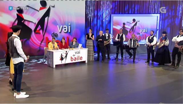 O xurado valora quen gaña no concurso do  'Vai de Baile' desta noite - 16/03/2018 23:19