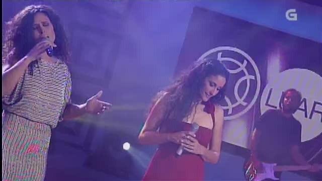 """Rosa López e Rosa Cedrón interpretan """"Alecrín"""" no programa """"Luar"""" - 28/09/2012 00:38"""