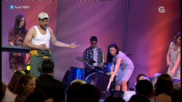 Unha das mellores actuacións do ano: Os Páramo Pictures prenderon o boi - 30/12/2016 22:51