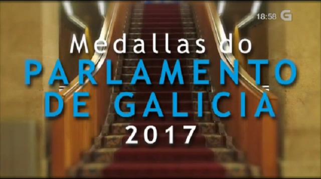 Medallas do Parlamento de Galicia (con lingua de signos) - 06/04/2017 23:55