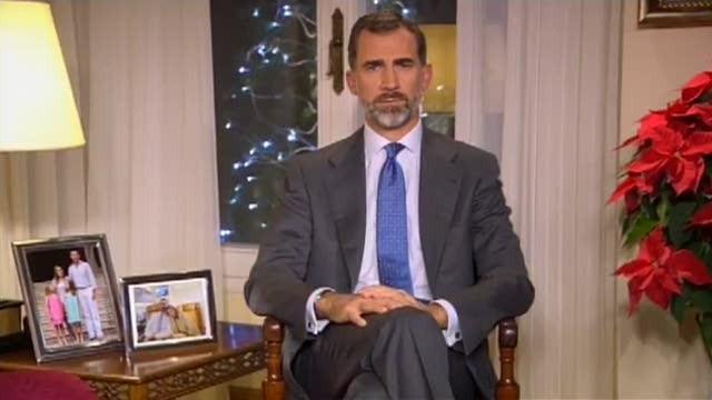 Primeiro discurso de Noiteboa de Filipe VI - 24/12/2014 21:00