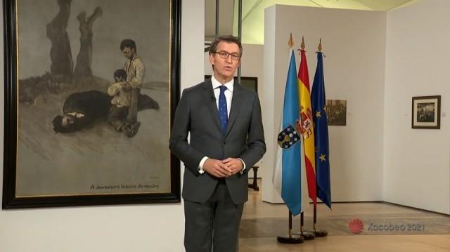 Mensaxe de fin de ano do presidente da Xunta - 31/12/2018 14:15