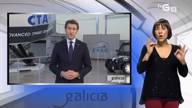 Mensaxe de Fin de Ano do presidente da Xunta de Galicia (xordos) - 31/12/2014 16:00