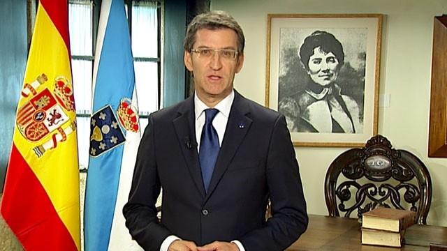 Mensaxe do presidente da Xunta de Galicia - 31/12/2012 14:10