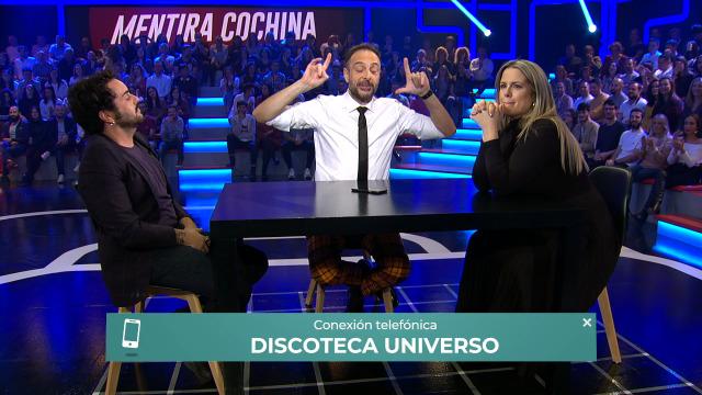 A discoteca Universo de Santa Comba chama en directo para contratar a Perdomo - 08/11/2019 00:10
