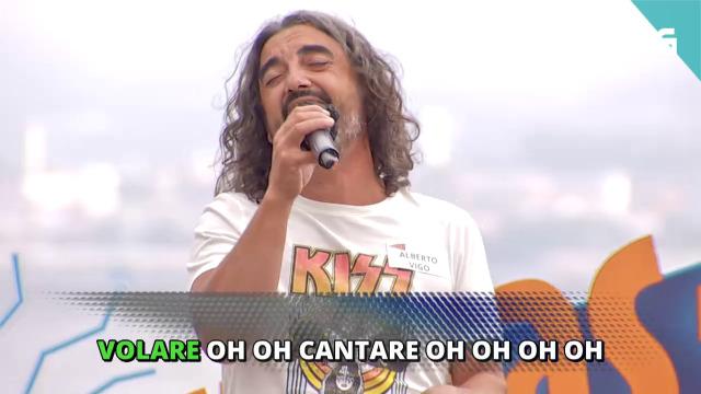 Alberto de Vigo fai 'Volare' o 'Cantas ou non?' - 04/08/2020 19:30