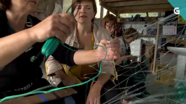 As redeiras de Corme transforman redes en complementos e xoias - 10/12/2019 22:00