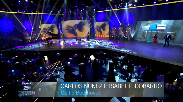 Carlos Núñez e Isabel P. Dobarro interpretan Celtic Beethoven - 25/07/2020 22:00