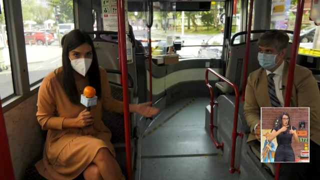 Como se leva a cabo a desinfección do transporte público? - 23/09/2020 16:15