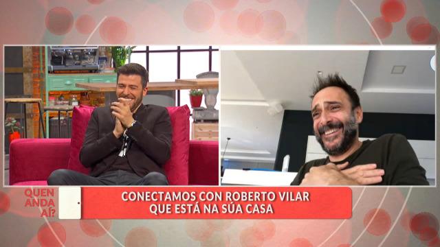 Conectamos con Roberto Vilar, que está na casa - 18/03/2020 16:30