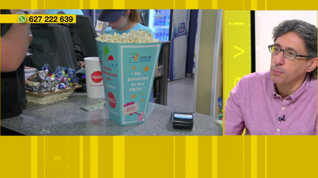 É legal entrar con comida e bebida de fóra nas salas de cine - 30/10/2019 13:41