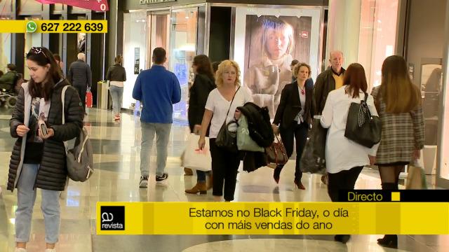 Hoxe é o mundialmente coñecido Black Friday - 29/11/2019 12:30
