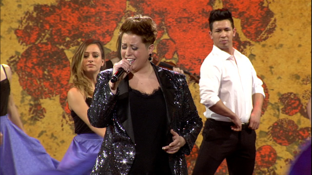Maite interpreta 'Volver volver' nos Recantos de Ouro - 08/02/2020 13:30