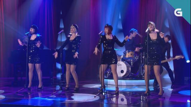 O grupo vigués Broken Peach interpreta 'Running' no 'Bamboleo' - 11/01/2020 22:00