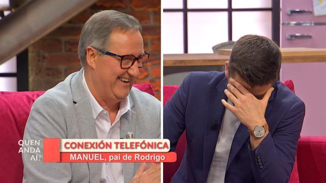 O pai de Rodrigo chamou en directo ao 'Quen anda aí?' - 19/03/2020 16:30