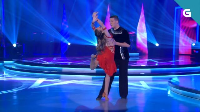 Os bailaríns Dani e Alba interpretan a rumba máis romántica no Bamboleo - 01/02/2020 22:00