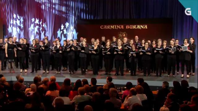 """""""O Fortuna"""", Banda de Música de Valga e Coro Gli Appassionati: primeira versión en galego da cantata escénica de Carl Orff - 04/09/2020 22:25"""