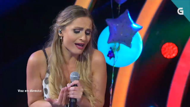 Rita Barreiro namora o xurado coa súa interpretación de 'Que bonita es mi niña' - 20/08/2020 22:00