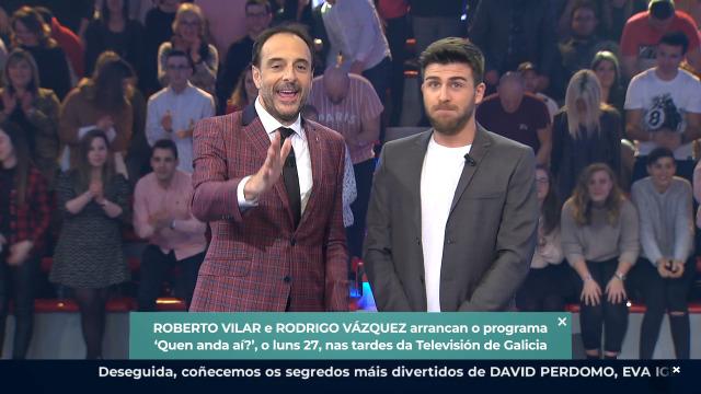 Roberto e Rodrigo ofrécenche a mellor alternativa a 'Sálvame' - 24/01/2020 00:07