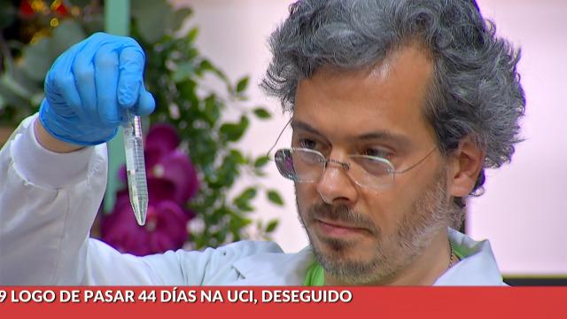 Rodrigo e Marcial fánse unha análise de ADN en directo - 21/05/2020 16:00