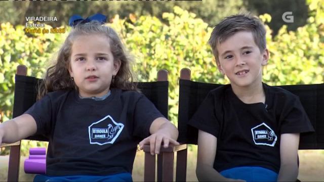 Mario e Carmen teñen 8 e 9 anos e son dúas pequenas estrelas! - 04/11/2017 23:37