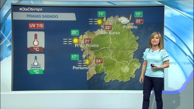 Abundarán as nubes no ceo en Galicia - 06/07/2019 15:32