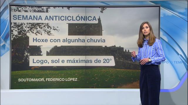 Ambiente cada vez máis seco grazas ao anticiclón - 12/11/2018 16:41