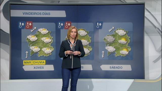 Aviso amarelo por acumulación de chuvia e vento do sur forza 7 na área costeira dende Malpica ata A Guarda - 10/10/2018 11:29