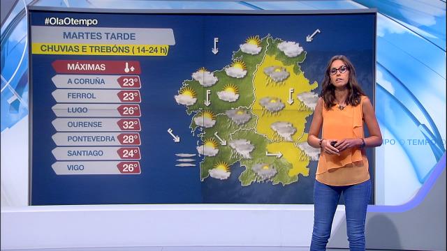 Aviso por treboadas no interior de Galicia - 11/08/2020 17:08