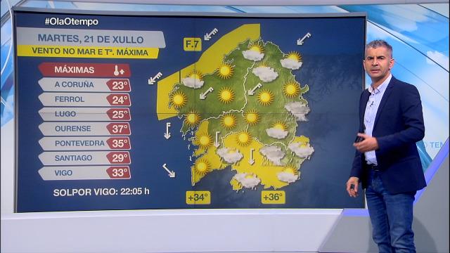 Calor, vento do nordés e risco de trebóns - 21/07/2020 15:45