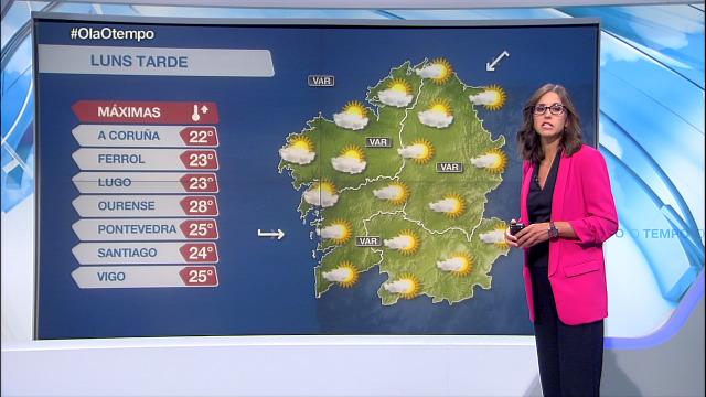 Máis nubes polo oeste de Galicia - 31/08/2020 15:45