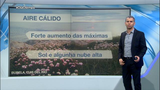 O domingo chega a calor a Galicia - 02/05/2020 15:10